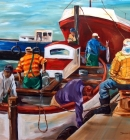 Kalk Bay - washing out the boat
