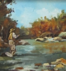 fly-fishing-on-the-river-490x390mm