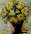 Impressions of Sunflowers-Still Life