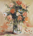 Floral-Still life- Peaches