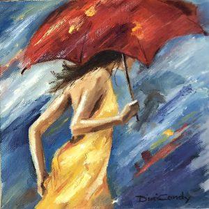 Wind and Rain. 200x200mm