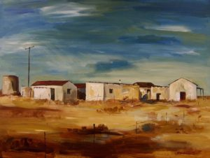 Farmhouse on coast of Eastern Cape