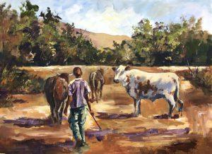 herdboy-with-inguni-600x450mm-15oil