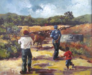 herdsmen-heading-home-600x500mm-15a