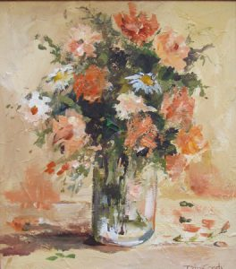 Floral-Still life- Peaches