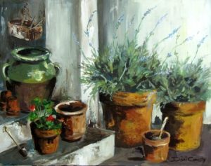 -pots-of-lavendar-710x560mm-mixed-oils