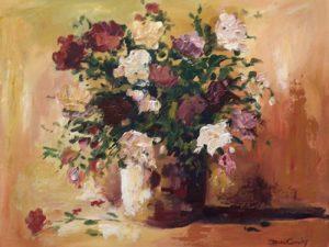 Pink floral in a vase