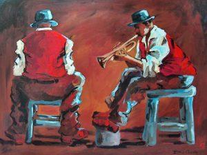 the-blues-quartet-centre-piece