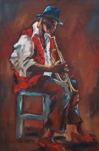 The warmth and soul of the jazz musicians