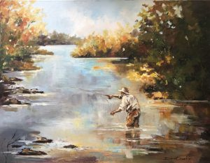 Fly Fishing-Early Morning Gold 720x560 e