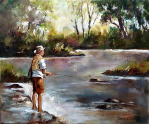 fishing-in-morning-light-610x510mm
