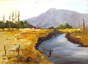 fly-fishing-bokspruit-cape-610x470mm-oils