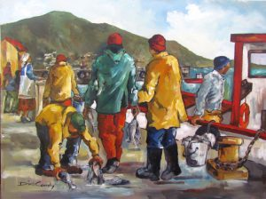 kalk-bay-buying-fish-1010x760mm