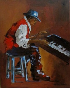Musician - Playing the Keys