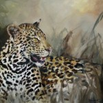 IMG_2143a. Leopard-In Camouflage. 1010x760mm. oils  2012